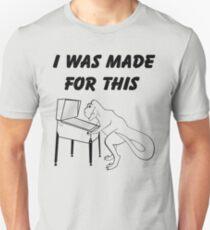 Why T-Rex has short arms! Pinball!  Unisex T-Shirt