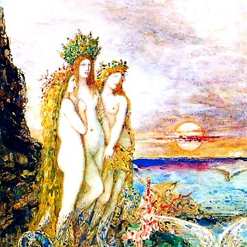 "Gustave Moreau ""The Sirens"" by ALD1"