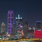 Dallas HEART Skyline by josephhaubert