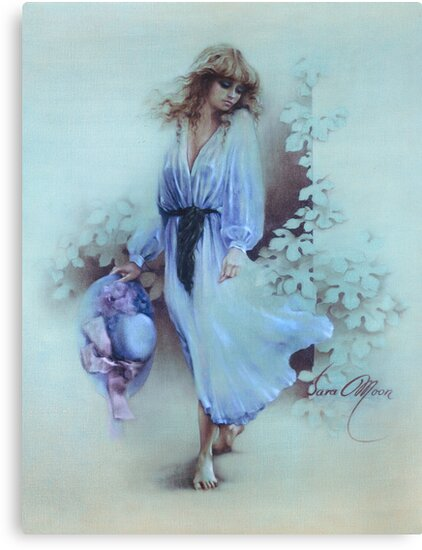 """""""Summer Wind"""" Painting in Oils by Sara Moon"""