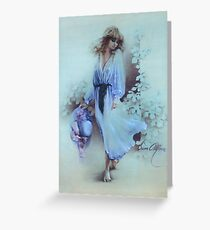 """Summer Wind"" Painting in Oils Greeting Card"