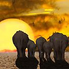 Climate Change Is Real, Save the Elephant by mia-scott