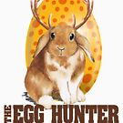 Funny Easter Design - The Egg Hunter - Cute Christian Gift Idea - Bunny by stuch75