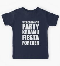 Party Karamu Fiesta Forever (White Text) Kids Clothes