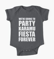 Party Karamu Fiesta Forever (White Text) Kids Clothes
