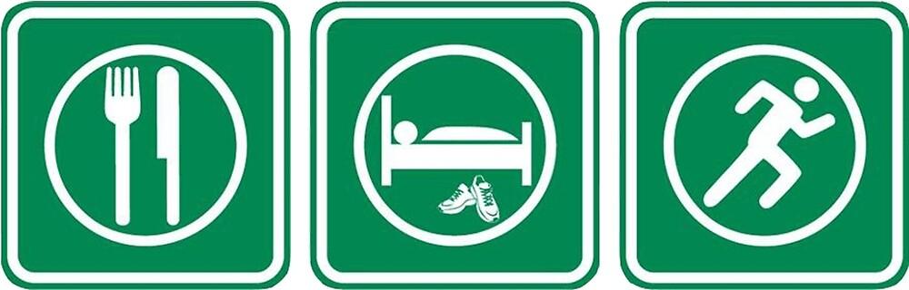 Eat, Sleep, Run! by kocimski