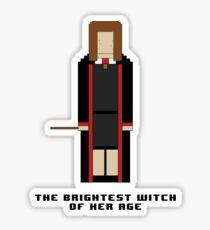 Hermione Granger 'The Brightest Witch of Her Age' 8-bit Sticker