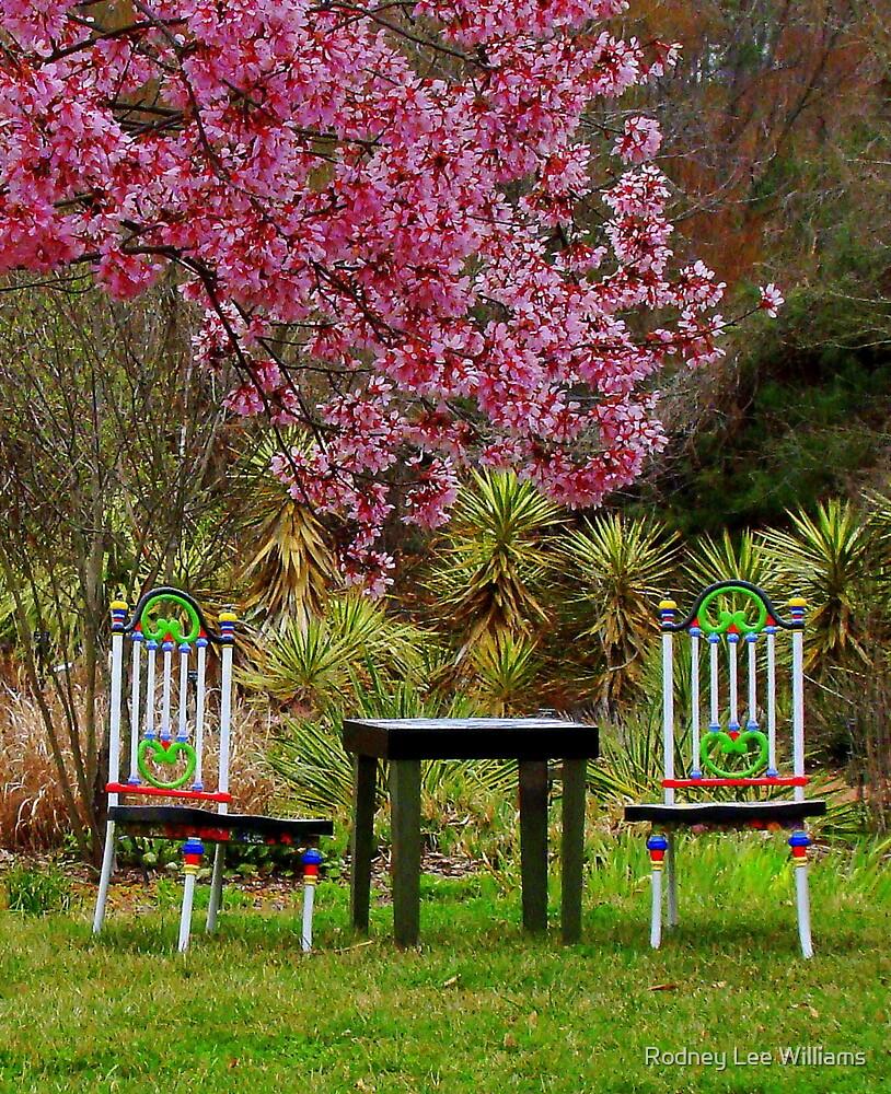 Spring Begins in Wonderland by Rodney Williams