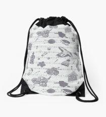 Tak Dee Sock - Grey Drawstring Bag