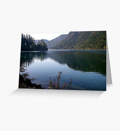 Cameron Lake,Vancouver Island Greeting Card