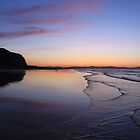 Sunset at Benone by erwina