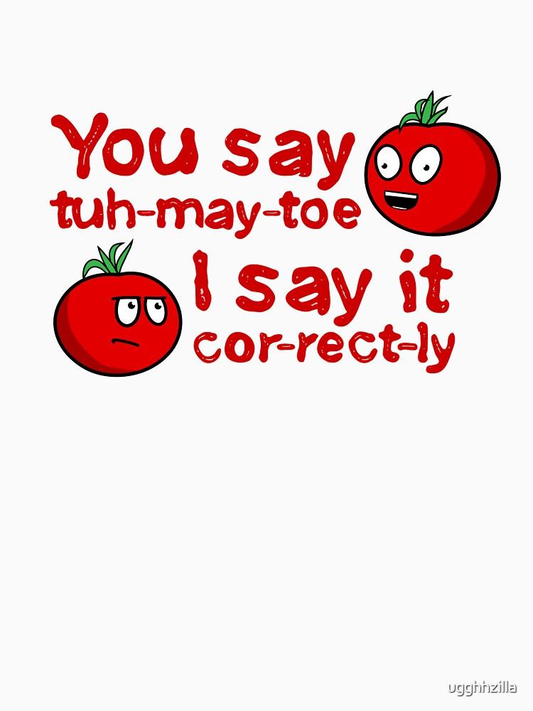 You Say Tuh-May-Toe...(Without Shadows) by ugghhzilla