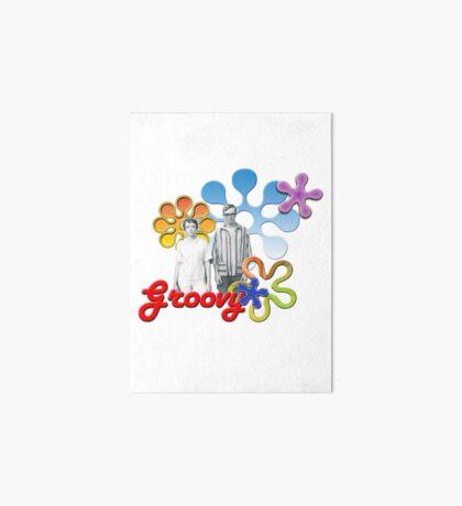 """Groovy"" Art Board Print"