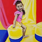 AUDREY CHARLOTTE 4 YEARS OLD by Tammera