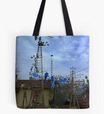 Waiting for the big Blow..... Tote Bag