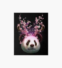 PANDA HORNS UP Art Board