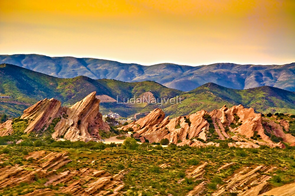 Vasquez Rocks, CA by LudaNayvelt