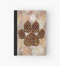 Celtic Knot Pawprint - Prints and Cards Hardcover Journal
