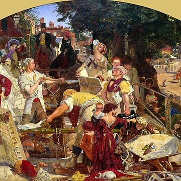 Work - Ford Maddox Brown by forgottenbeauty
