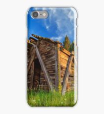 Evening Light On An Old Cabin iPhone Case/Skin
