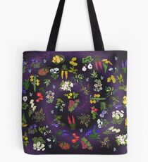 D1G1TAL-M00DZ ~ FLORAL ~ Ladybird and Butterfly  by tasmanianartist 140219 Tote Bag