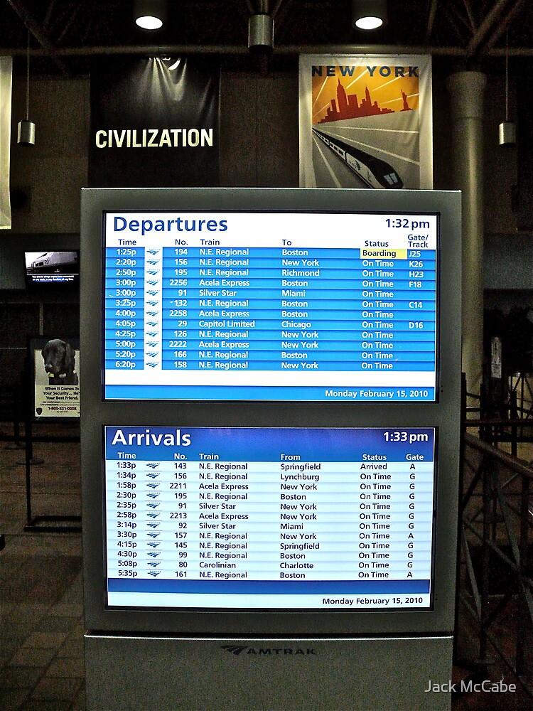 Washington DC - Union Station - Series - Departures © 2010 by Jack McCabe
