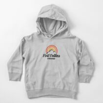 Fort Collins Colorado Shirt CO State Home City Tourist Travel Souvenir Beach Gift Toddler Pullover Hoodie
