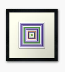 HIP TO BE SQUARE - PERI Framed Print