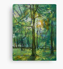 Emerald Twilight Canvas Print