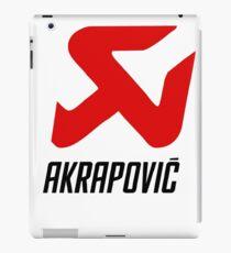 Akrapovic Exhaust Sys iPad Case/Skin