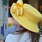 Yellow Florida Derby Hat by Danceintherain
