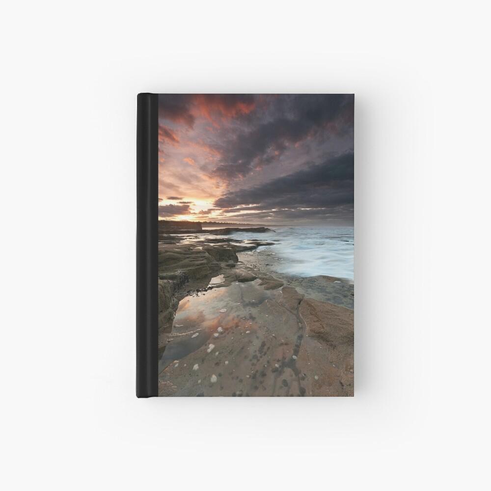 Sluice sunset Hardcover Journal