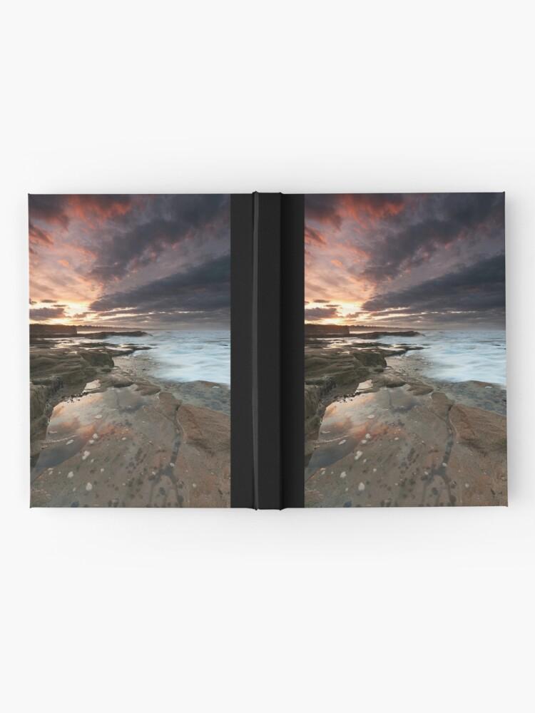 Alternate view of Sluice sunset Hardcover Journal