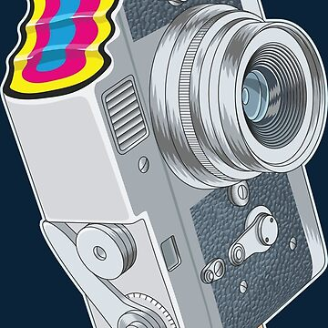Camera Pop CMYK von zomboy