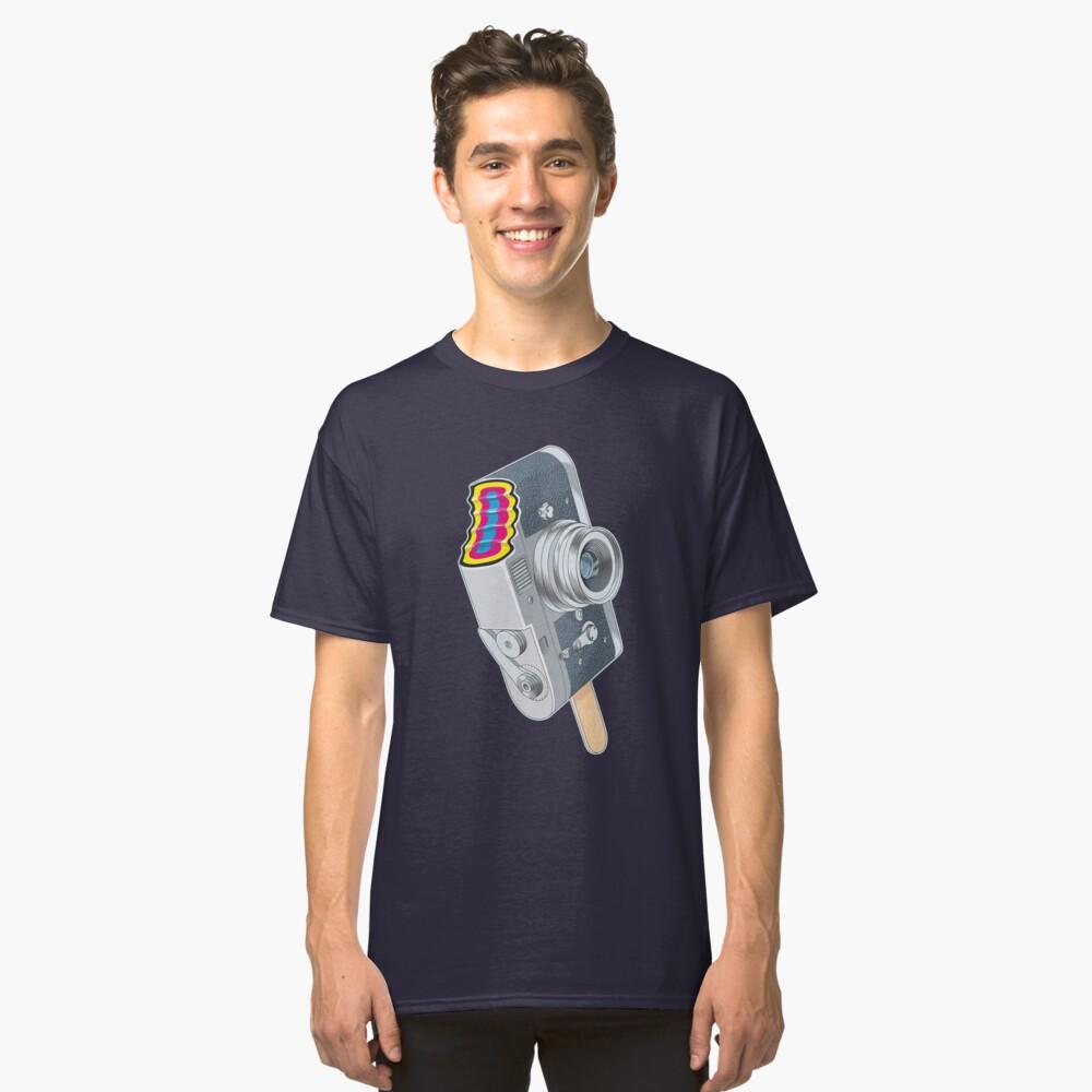 Camera Pop CMYK Classic T-Shirt Front