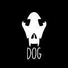 Cute dog skull by aseaofjoy