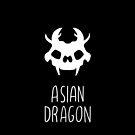 Cute dragon skull by aseaofjoy