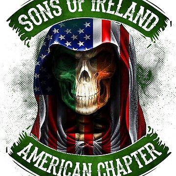 Sons Of Ireland American Chapter Funny St Patrick's Day Shirt by liuxy071195