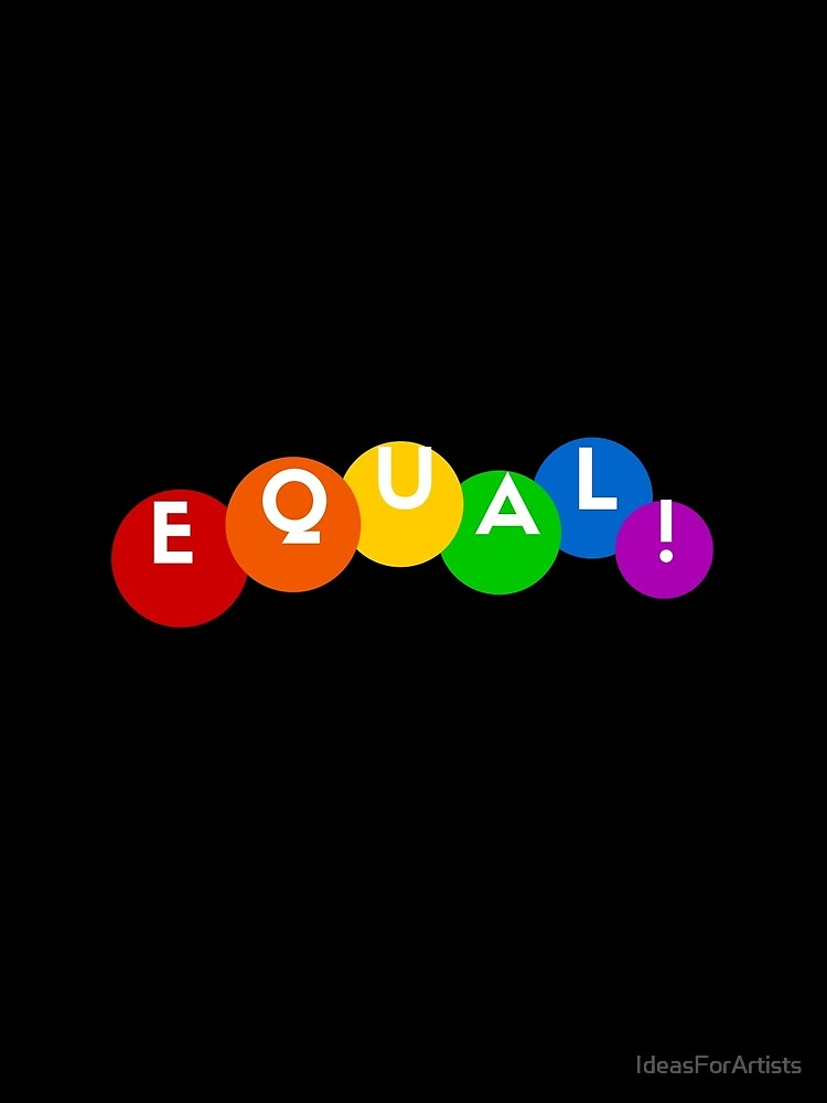 EQUAL rainbow by IdeasForArtists