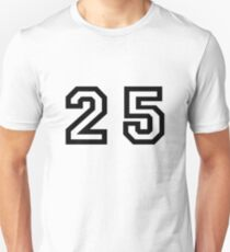 Twenty Five Unisex T-Shirt