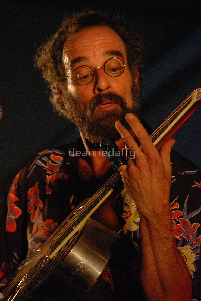 Bob Brozman by deannedaffy