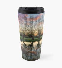 Autumn on the River Stour Travel Mug
