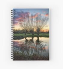 Autumn on the River Stour Spiral Notebook