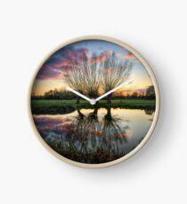 Autumn on the River Stour Clock