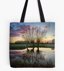 Autumn on the River Stour Tote Bag