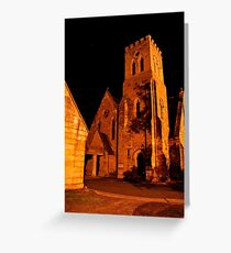 Holy Trinity Anglican Church ~ Peace of the Night Greeting Card