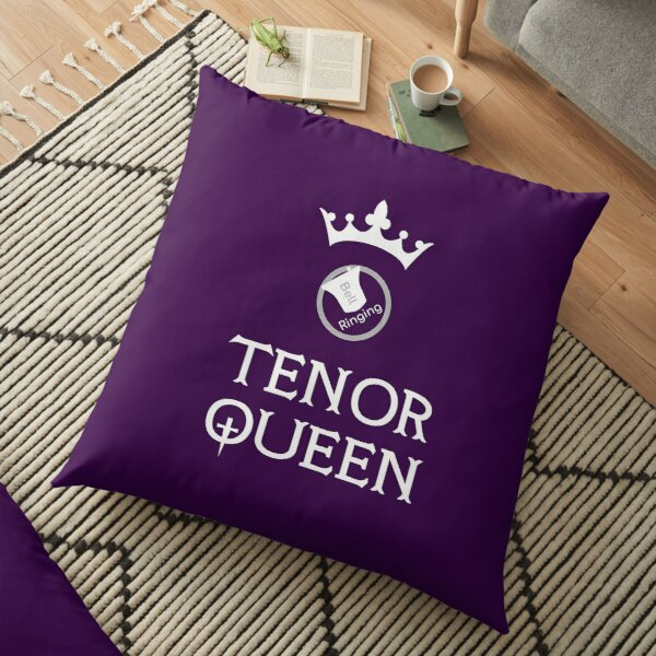 Bell Ringing - TENOR QUEEN Floor Pillow