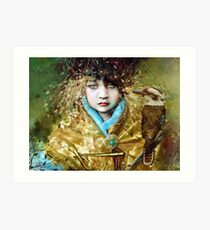 Kookaburra Princess Art Print