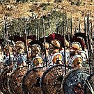 Spartan Army at War by Andrea Mazzocchetti