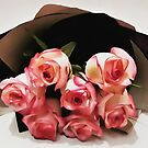 Pink roses by Magazin-Brenda